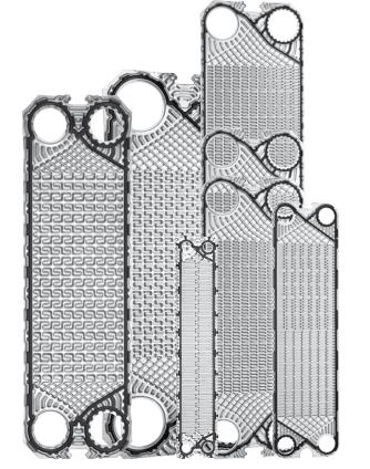 Free Flow Plate Heat Exchanger