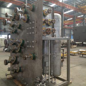 Brazed Aluminum Exchanger Assembly
