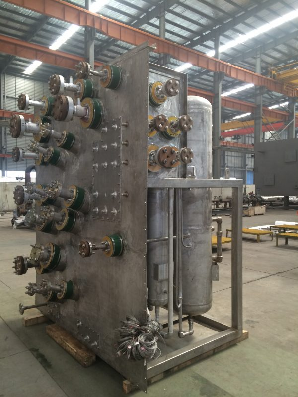 Brazed Aluminum Exchanger Assembly